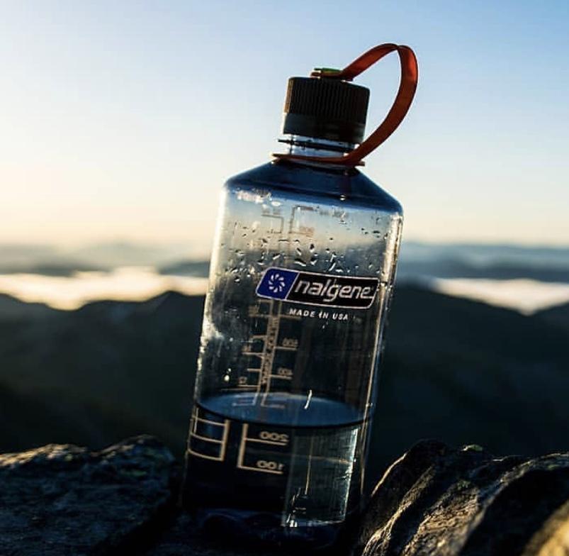 nalgene reusable refillable water bottle sustainable reduce plastic refill vegan