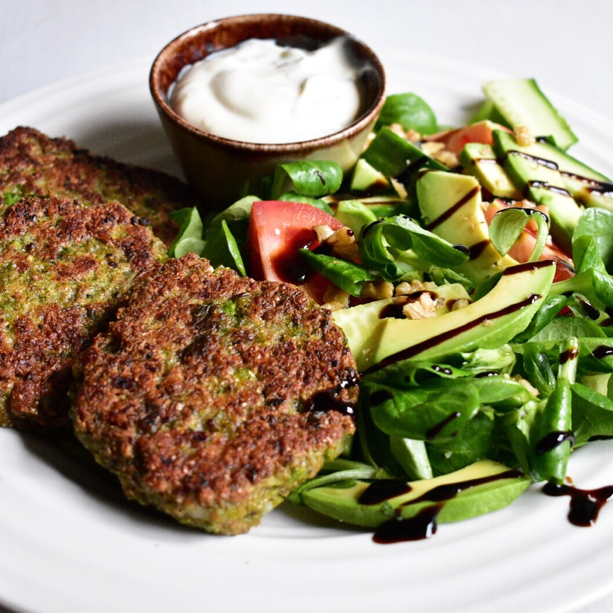 vegan pea and mint fritters fritter recipe