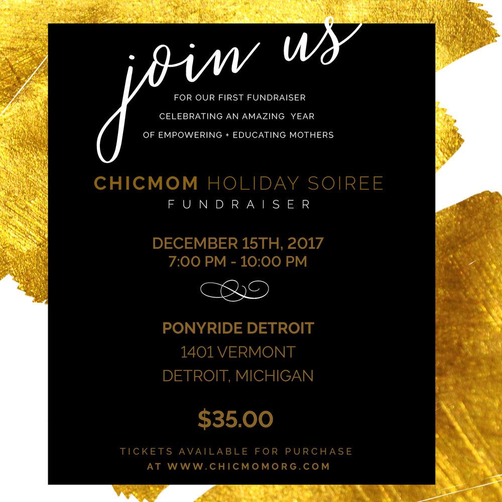 Chic Fundraiser social invitation.jpg