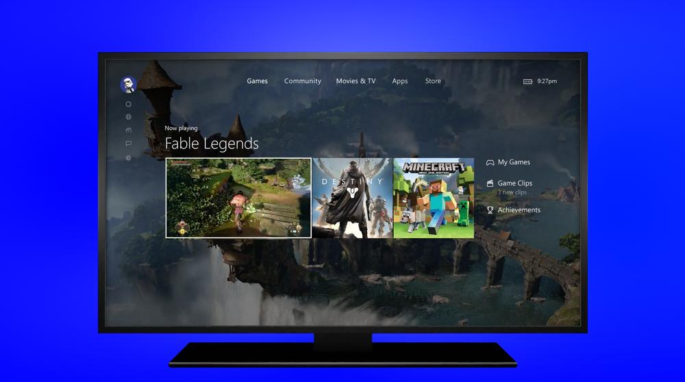 Xbox Games App UI — Nick Bauer