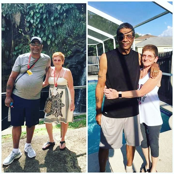 """-111 lbs GONE IN 11 MONTHS😳😳😳  I love seeing couples inspire eac hother😍😭😍I mean isn't that REAL love!??! Helping each other to live long happy and healthy lives!?!?!?!!? I mean COME ON!!!!! Can I get an Amen!!?!?!?!🙌🙌🙌 Check out fellow Fit Club-ber & Coach Joseph's story💪😉    """"I have been sedentary since I retired several years ago. I hated the way I looked and how my clothes fit. My diet was terrible. I was depressed and my self-esteem was the lowest it has ever been. I was tired of having to buy XXL clothes. My wife started doing this program and I saw how dedicated she was. Her whole outlook on life changed. I saw the amazing changes she was making cooking and eating healthy. I felt if she could do it I could, too.  I went from 269 pounds to 158 pounds in 11 months. That's a 111-pound weight loss! I haven't looked or felt this good since middle school!  I can now shop for clothes in a size medium and not XXL. But most of all, I am proud that I'm 65, and I did this. It was hard work, but as you can see, it was very worth it.  I make healthier food choices when we eat out. I have completely changed my lifestyle. And I love the healthier and more fit person I have become.""""   ................................................................................................ Ya know, if we want to encourage REAL positive changes in our loved ones lives it starts with US making that first step. So if YOU need this not only for YOU but for YOUR family then lets chat! APRIL 1ST IS MIND & BODY MAKEOVER!!!!!! Register ASAP by   filling out my Virtual Fit Club Application    Change starts with the decision to TRY. I know we can do this. TOGETHER💕💕💕"""
