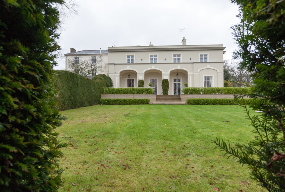 Dr Olivarius' home and office, Hennerton House