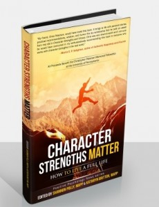 BOOK CHAPTER on   SELF-REGULATION in  Character Strengths Matter: How to Live a Full Life       Positive Psychology News Daily