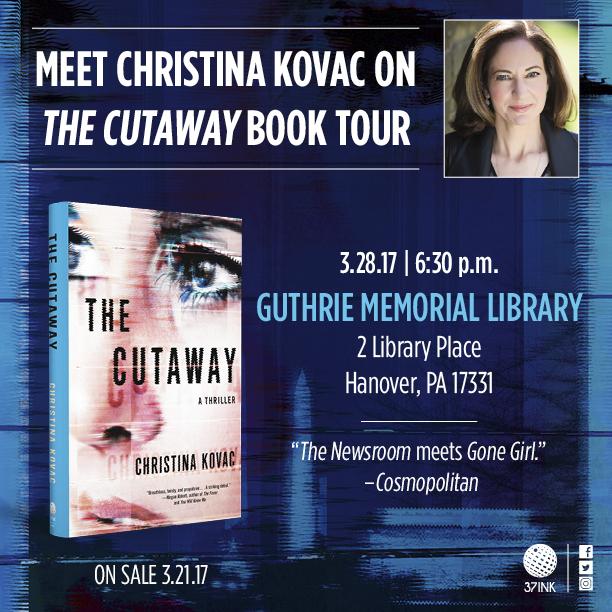 Christina Kovac,Mystery writer