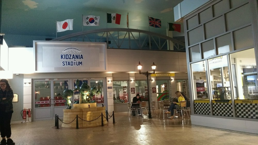 Kidzania Stadium for soccer games and other sports.