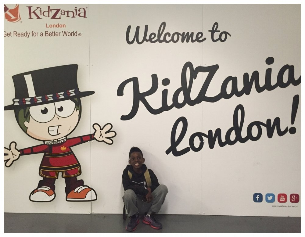 Kidzania is located inside of the rather large Westfield Mall in London. From the garage, there's a neat foot trail that leads to the tiny town.