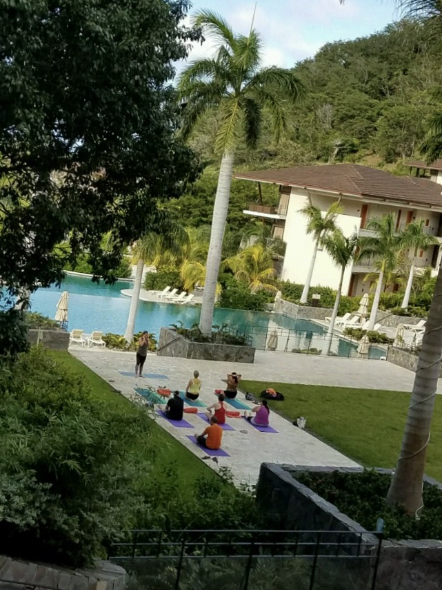Wake up Costa Rica! Morning Yoga session.