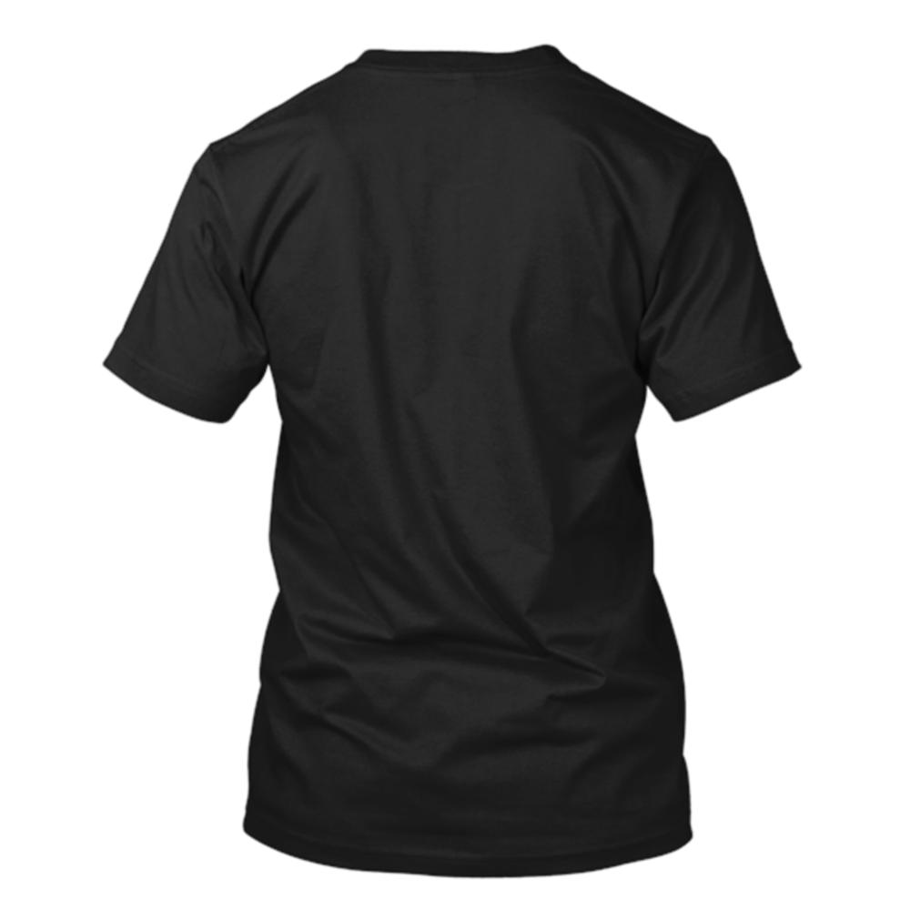 Official us or else t shirt black us or else for Black t shirt back