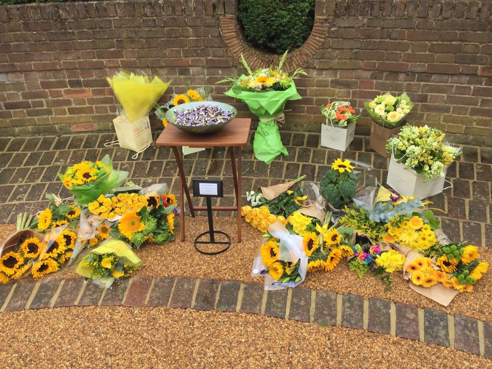2nd of August 2016 at the Mortlake crematorium
