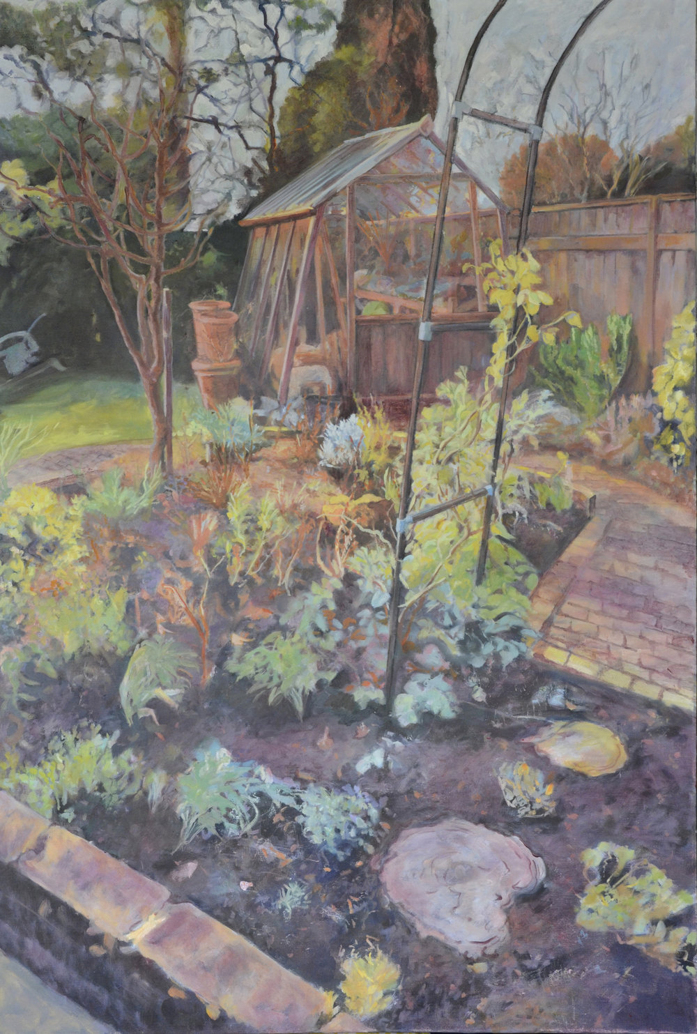 Maureen's Garden, oil on canvas, 80x120cms.jpg