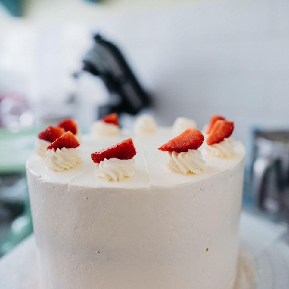 Miam! Des gâteaux aux fruits frais!