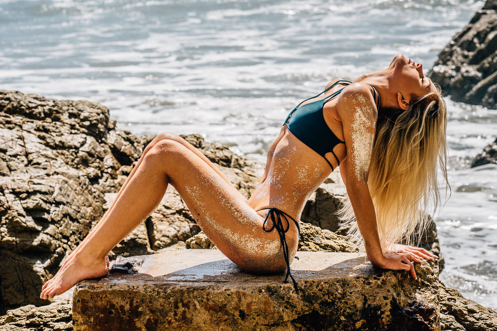 @emroseedavies &@kayykayyrose | @rivibikinis  El Matador Beach - Malibu, CALIFORNIA