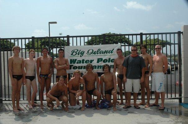 Winning the Big Island tournament with my Torrey Pines teammates