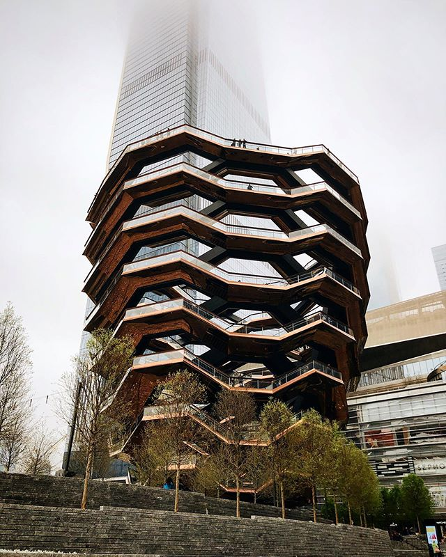 The Vessel at Hudson Yards in Manhattan.