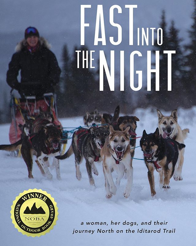 Happy #paperbackrelease day, FAST INTO THE NIGHT. If you want to venture out on the Iditarod Trail with some amazing huskies and meet my adventurous mom, get yourself a copy from @redhenpress. #fastintothenight #debbiemoderow #memoir #booklaunch @debbiemoderow