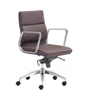 designer office low armchair espresso - Designer Desk Chair