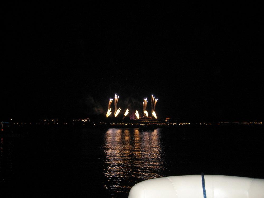 Fireworks...
