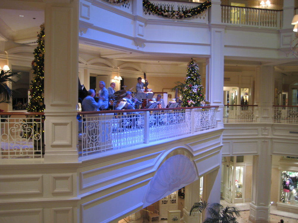 Jazz band at the Grand Floridian