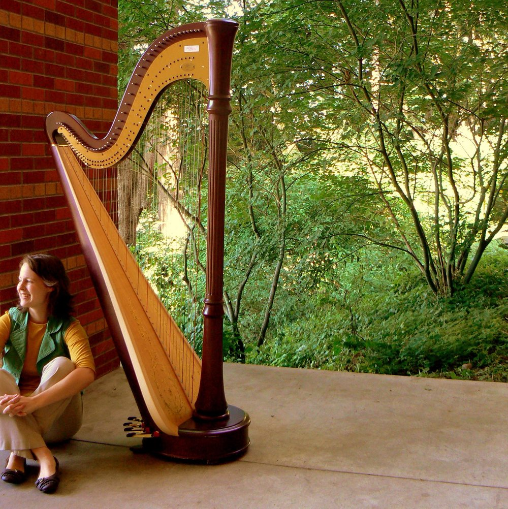 At the age of five, I saw a harp for the first time. - I was a flower girl in a wedding, and there was a harpist performing at the reception. At first sight, I knew I would play the harp someday. Thirteen years later, I found myself in beautiful Tacoma, Washington, pursuing a music degree at Pacific Lutheran University (PLU). I was blessed with the privilege to begin my harp studies with Nancy Dygert in Branson, Missouri, and to continue with Patricia Wooster at PLU, where I completed my Bachelor of Musical Arts degree in 2014.The harp has taken me to many wonderful places, through performances with the PLU Symphony Orchestra, Wind Ensemble, Harp Ensemble, Sølvvinden Flute Ensemble, Jazz Combos, choirs, opera, and collaborations with chamber groups and individual musicians. Some of my favorite harp moments include performances at Benaroya Hall in Seattle, Arlene Schnitzer Hall in Portland, and the opening ceremony of the 2016 Asia Harp Festival in Seoul, South Korea. In 2018, I had the honor of performing alongside Grammy-nominated composer and harpist extraordinaire Deborah Henson-Conant, as part of a rogue harp ensemble dubbed
