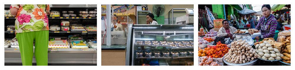 Bake shops. Iowa 2017, Cuba 2017, Myanmar 2016