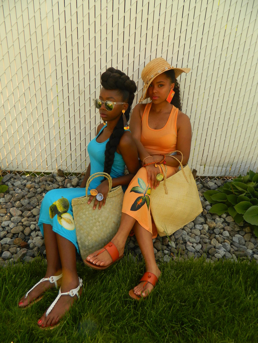 Summer where have you been?  My bright colors have waited for you  To bring out all my creole girl magic