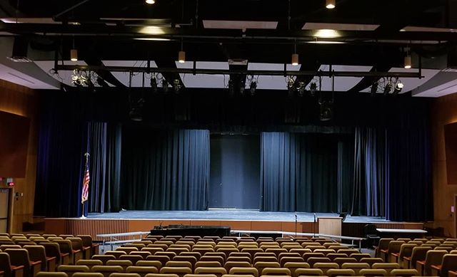 Blank Canvas at Plymouth-Whitemarsh High School.  @thefeatherhawk is designing a brand new stage setup to match the high level of competition at the NGA Mr. & Ms. Natural Philadelphia Bodybuilding Championship. This year we have full access to there state of the art lighting system. Stay tuned!  Banner Sponsor Logo Spaces will be available soon. DM us if you have interest.