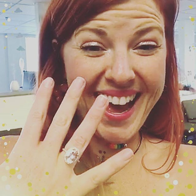 I cannot wait to start planning this lovely lady's wedding! She loves unicorns and rainbows so it's going to be a fun one! Congrats Linds (and Brett)! . . . #ihavethisthingwithcolor #morganite #bling #engaged #planningawedding #aisleplanner #chicagowedding #weddingplanner #weddingcoordinator #allinthedetails #nycweddingplanner #pink #prettyinpink #blindz #instagrambosses