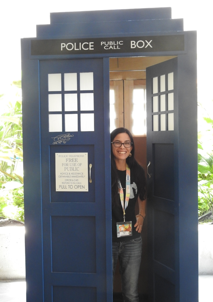 I've always wanted to hop into the Tardis! (Photo Credit: Nick Holt)