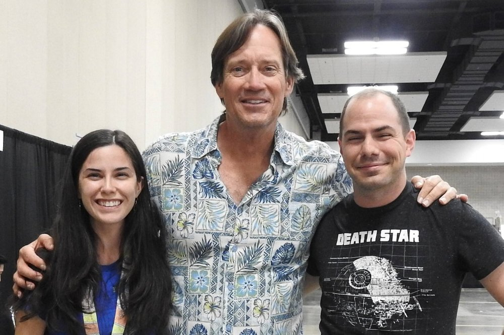 """I had to resist the urge to just call this post, """"Kevin Sorbo cares about Latin."""" (Photo courtesy of Nick Holt.)"""