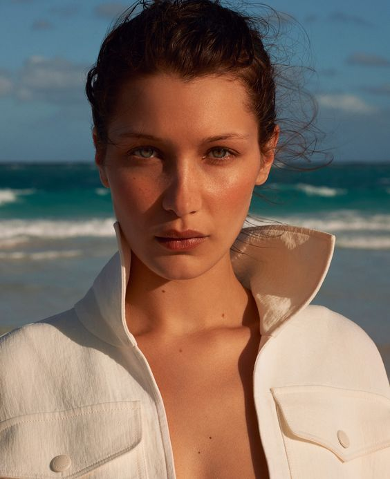 bella hadid for porter magazine, summer 2017 by terry richardson