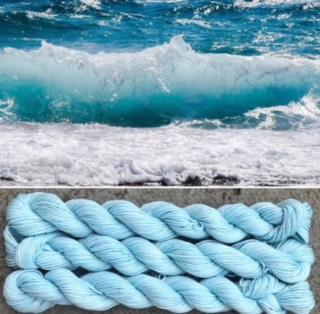Ocean waves yarn