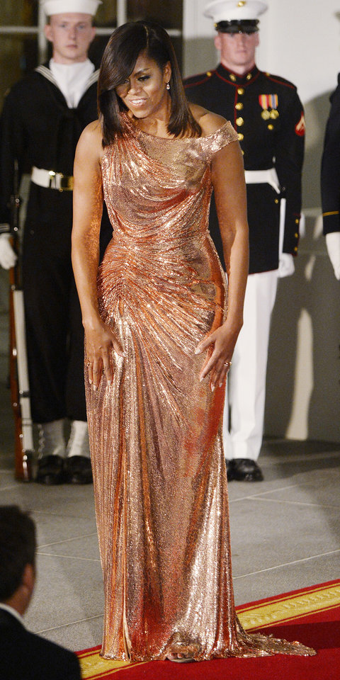 Rose Gold Atelier Versace Chainmail Dress.jpg