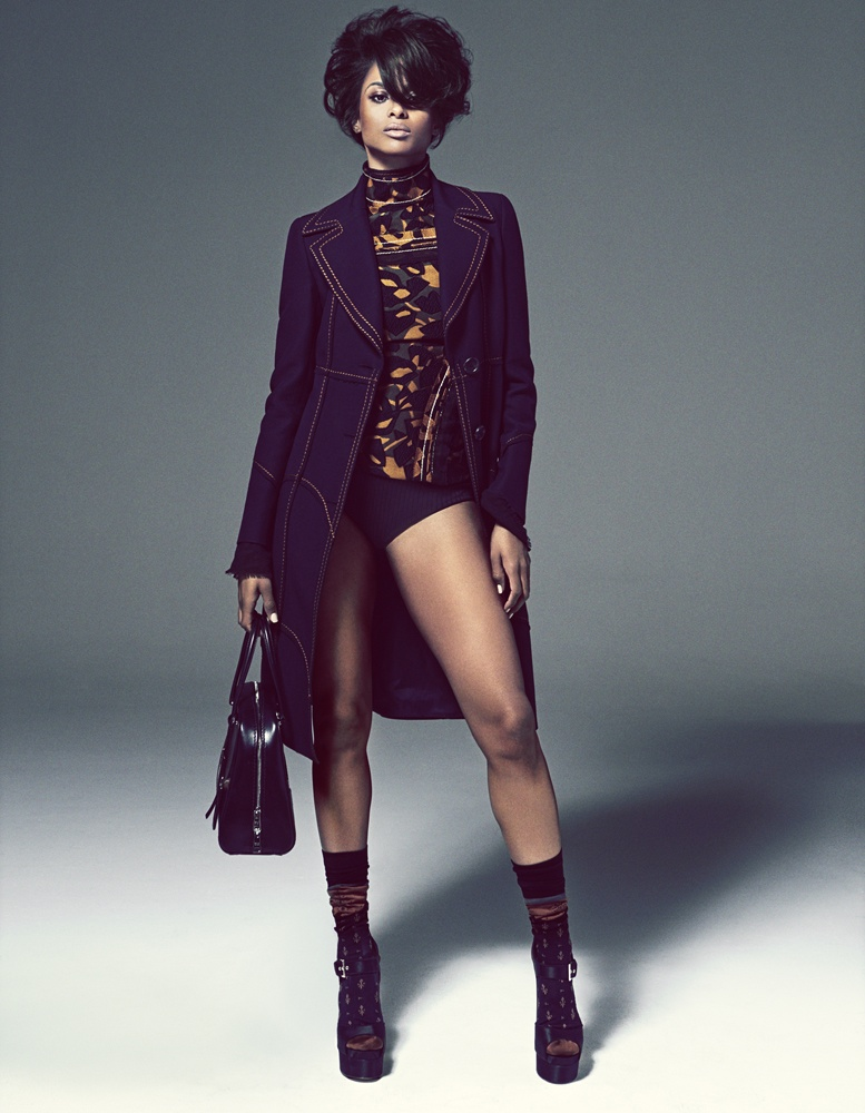 Ciara Fashion Photoshoot