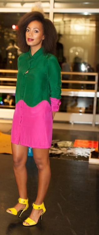 Solange Knowles In William Okpo