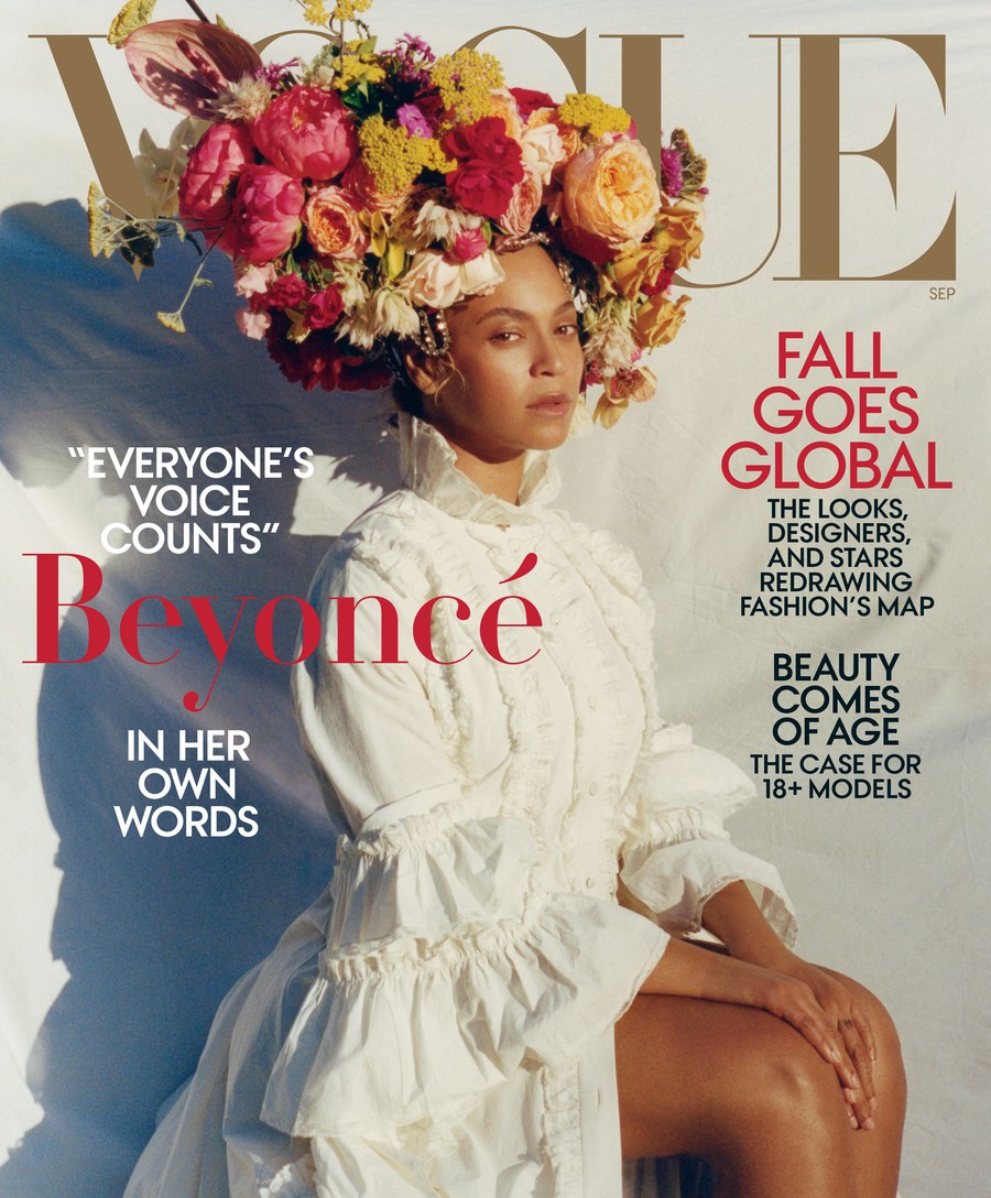 Beyonce Covers Vogue