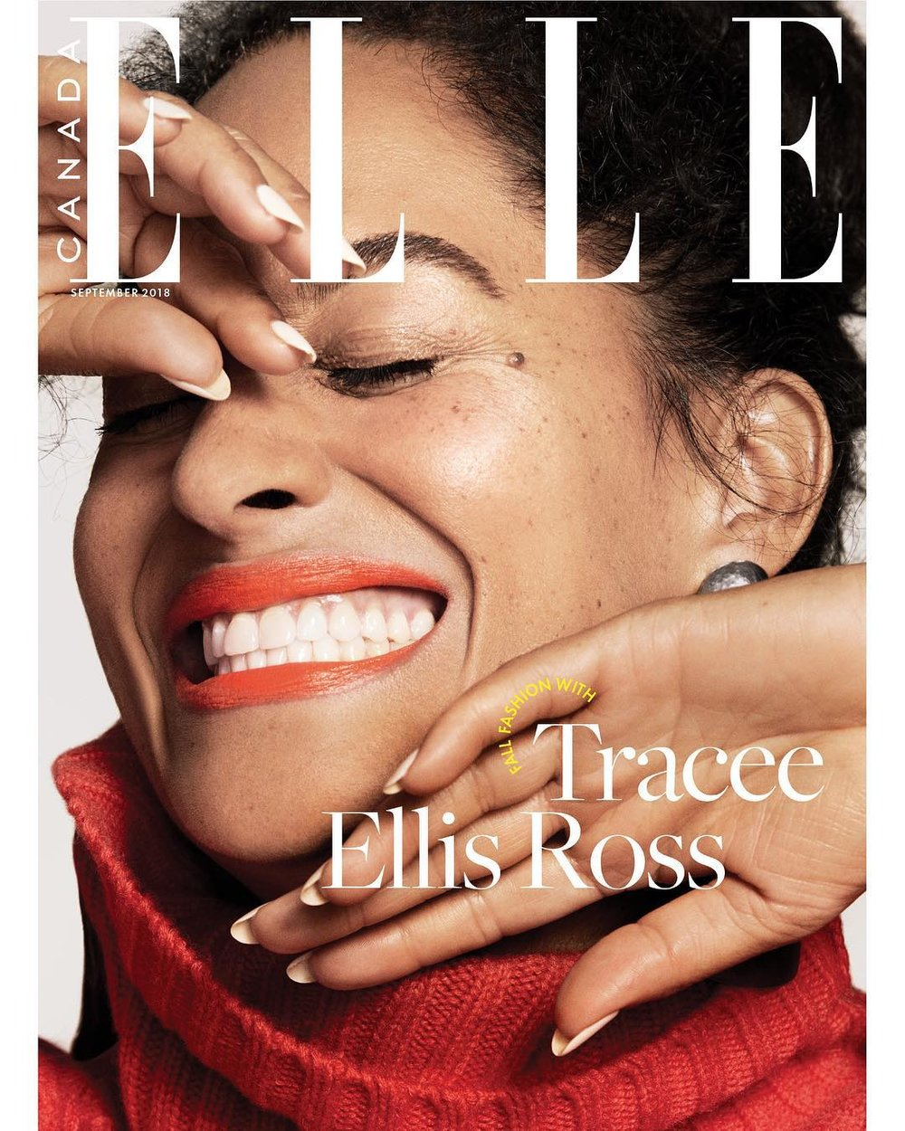Tracee Ellis Ross Covers Elle Canada