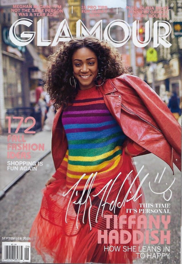 Tiffany Haddish Covers Glamour