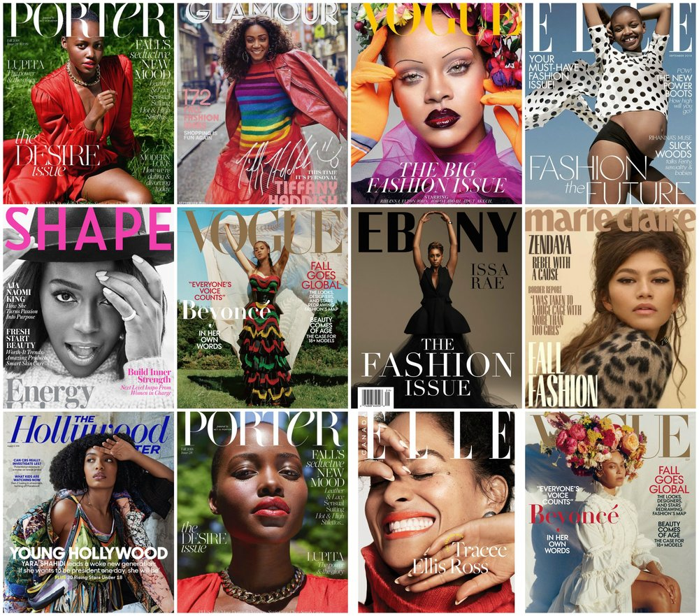 black women dominate the september issue