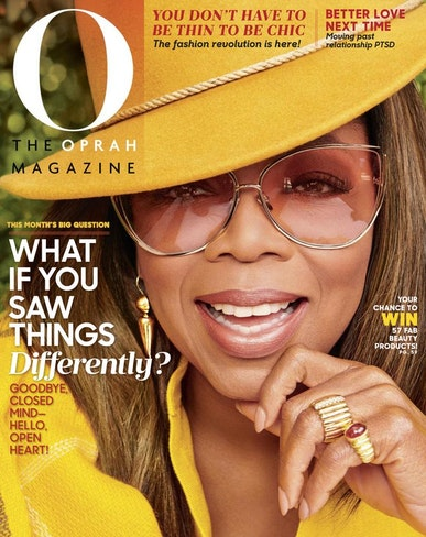 Oprah Covers The Oprah Magazine