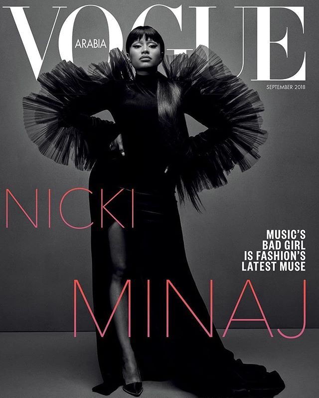 Nicki Minaj Covers Vogue Arabia
