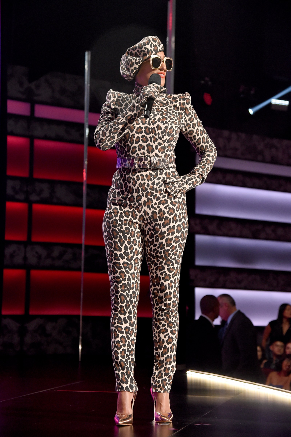 Leopard Sergio Hudson With Gucci   (Getty Images)
