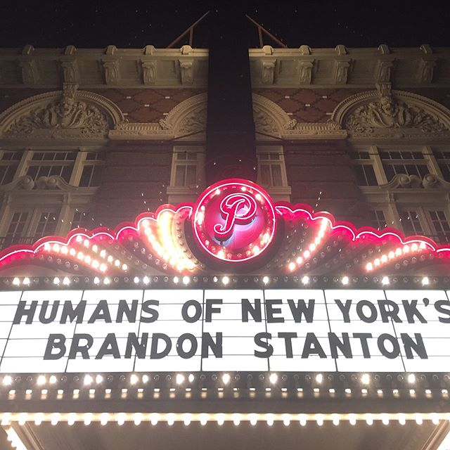 I ❤️ HONY . Wisdom from Brandon: . -set up your life so you can chose your work . -stop thinking about what you are going to do with your life and focus on what you are going to do with tomorrow . #hony #humansofnewyork #nyc #newyorknewyork #artist #theartistsway #photography #photojournalism #storytelling #dothework #experiments #bigmagic