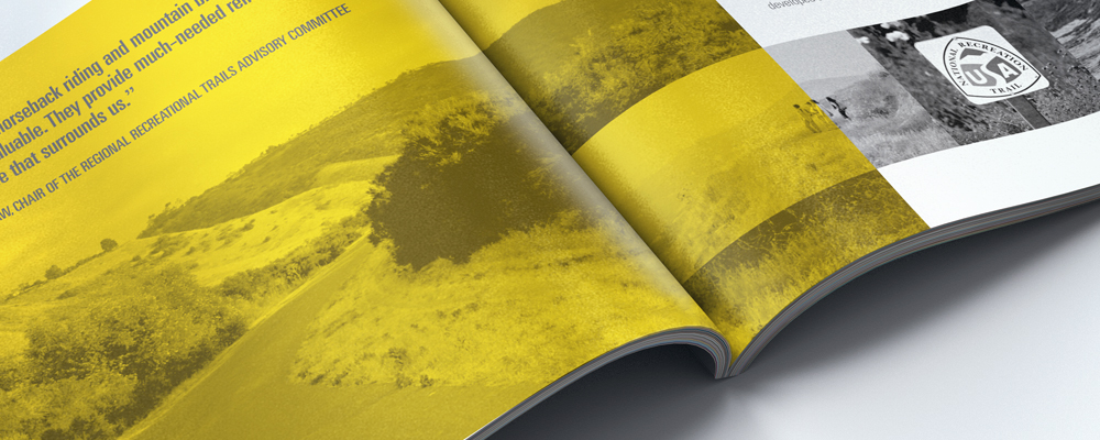 OC PARKS | regional parks, wilderness parks, historical parks in Orange County | annual report, print design | nature, natural beauty, non-profit, county
