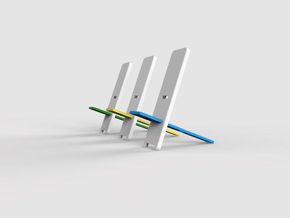 Overalt - An ergonomic, user focused chair concept