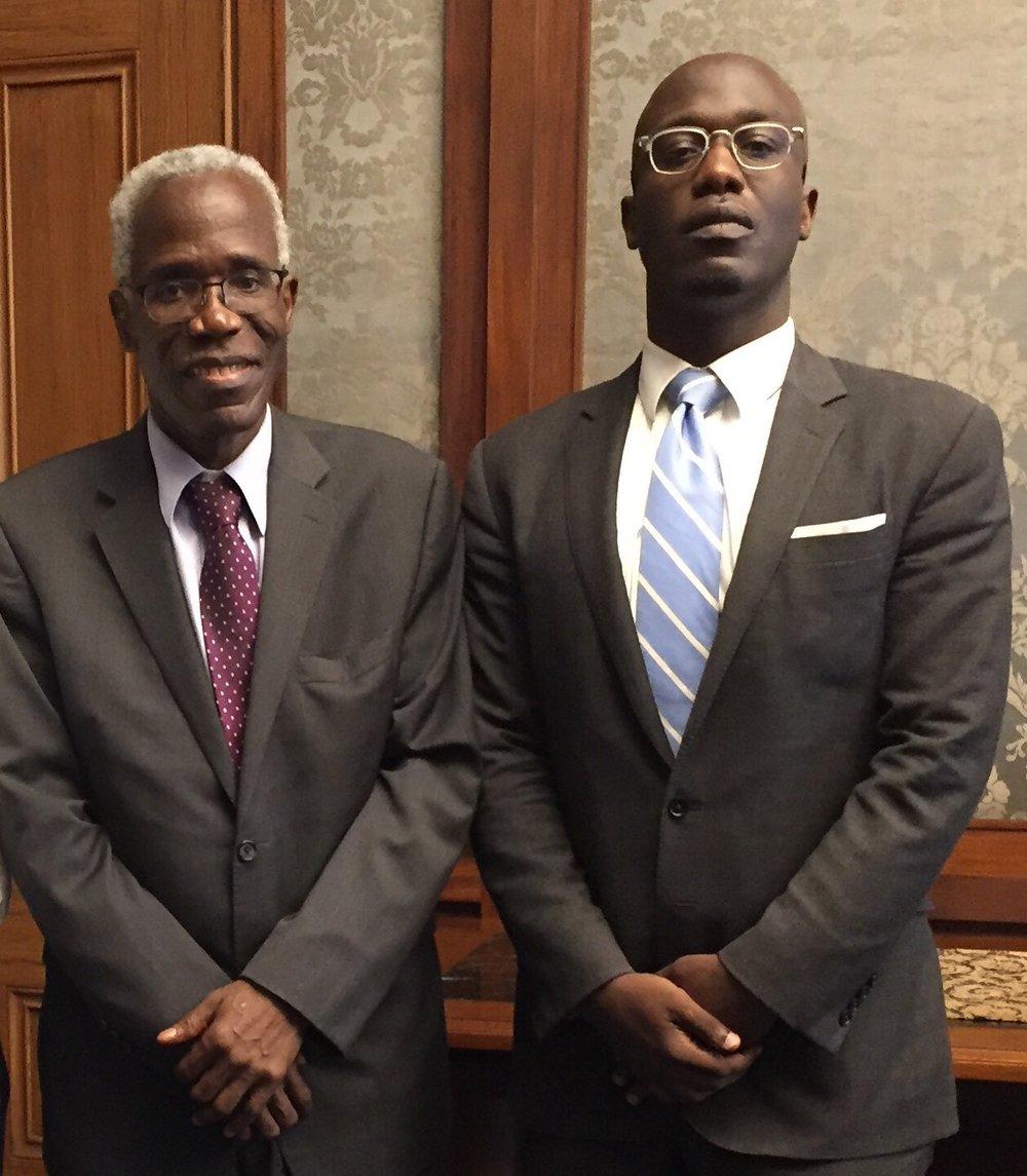 Kofi and Mawuli K. Hormeku