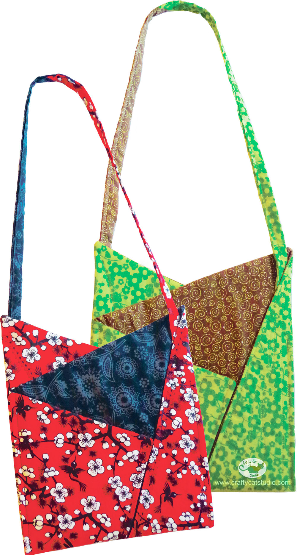 Fractured Triangle Bag