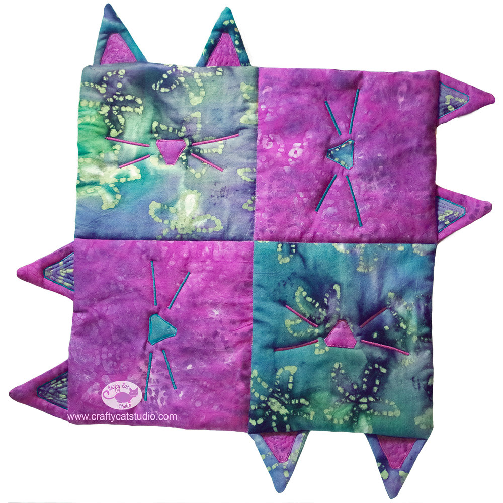 Cats Squared Table Topper