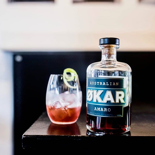 Økar by @ApplewoodDistillery. This baby's an Amaro... a type of bitter/herbal aperitif that have been popular for more than a century. Damn delicious in a Negroni or spritz.  @applewooddistillery #bivouaccanteen