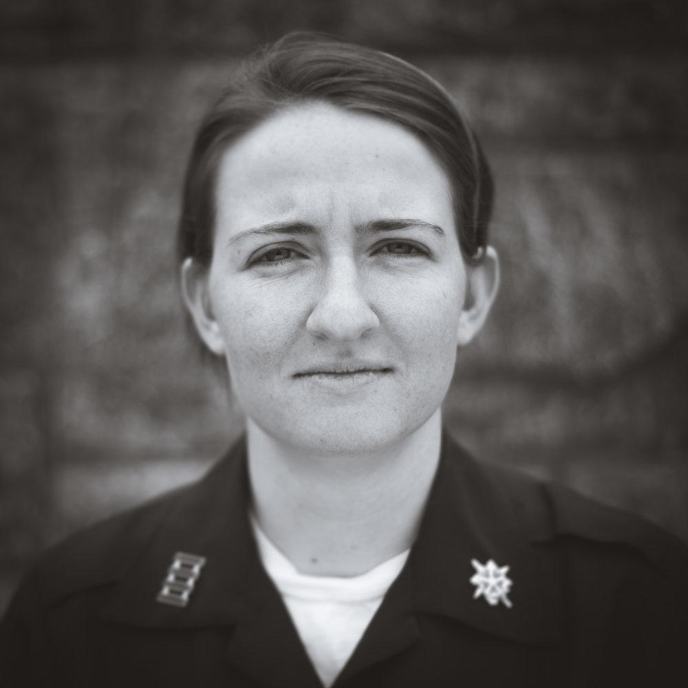 Cadet Brianna Sharkey, USMA '15