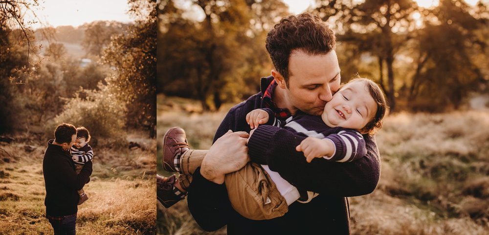 Father and son playing, sun, family, Becci Ravera Photography